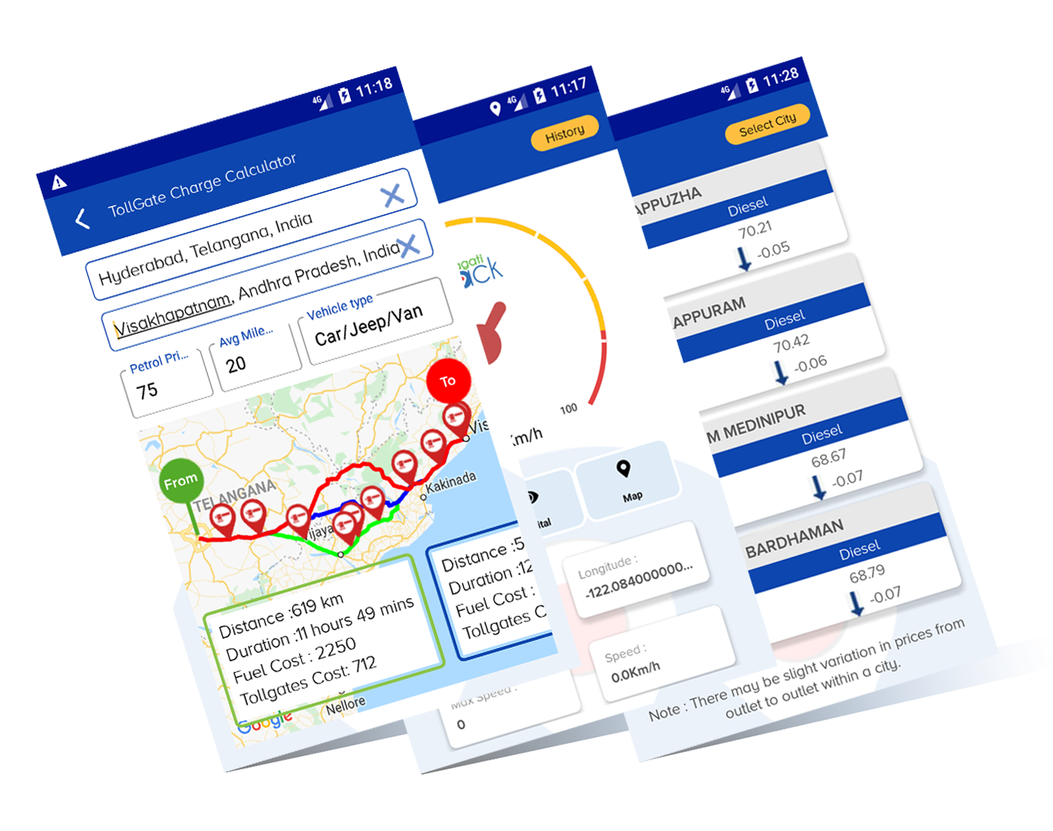 Utrack Vehicle Tracking System